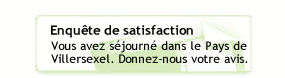 Enqu�te de satisfaction